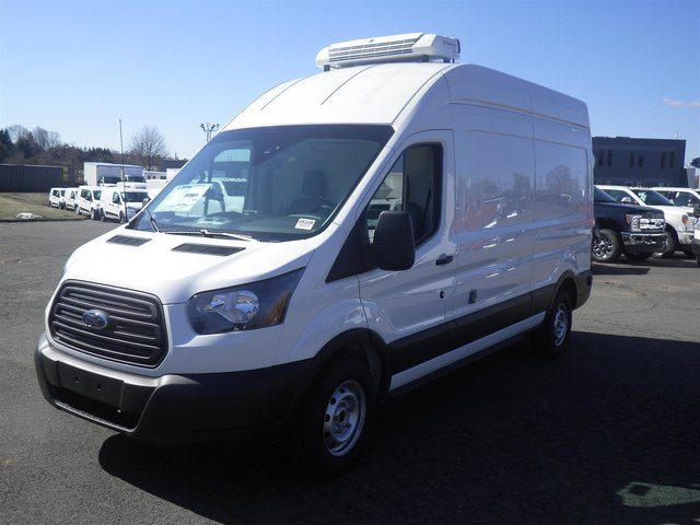 2019 Transit 250 High Roof 4x2,  Thermo King Refrigerated Body #G5339 - photo 4