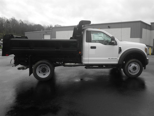 2019 F-550 Regular Cab DRW 4x4, Rugby Eliminator LP Steel Dump Body #G5380 - photo 6