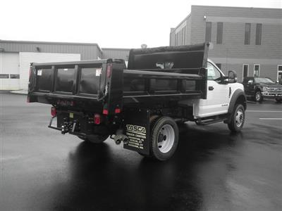2019 F-550 Regular Cab DRW 4x4, Rugby Eliminator LP Steel Dump Body #G5380 - photo 2