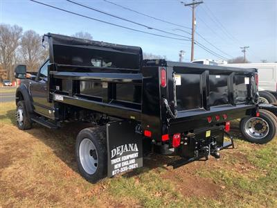 2019 F-550 Regular Cab DRW 4x4,  Rugby Eliminator LP Steel Dump Body #G5402 - photo 4