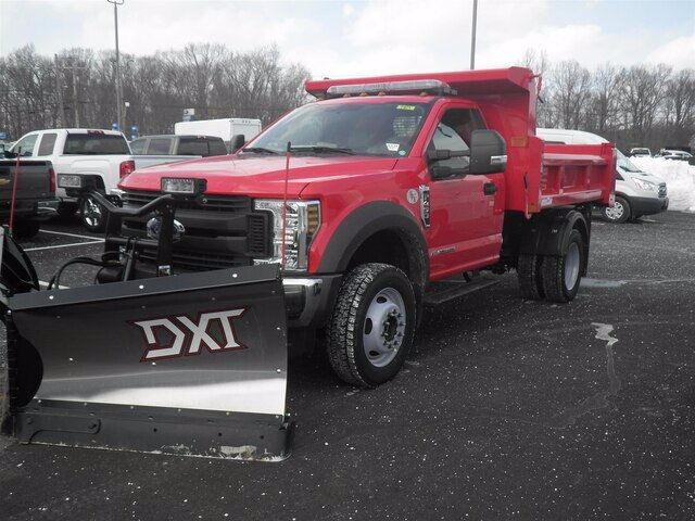 2019 F-450 Regular Cab DRW 4x4,  Rugby Eliminator LP Steel Dump Body #G5439 - photo 4