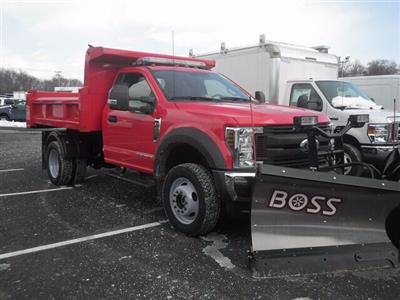 2019 F-450 Regular Cab DRW 4x4,  Rugby Eliminator LP Steel Dump Body #G5439 - photo 1