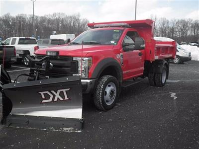 2019 F-450 Regular Cab DRW 4x4, Rugby Eliminator LP Steel Dump Body #G5439 - photo 5