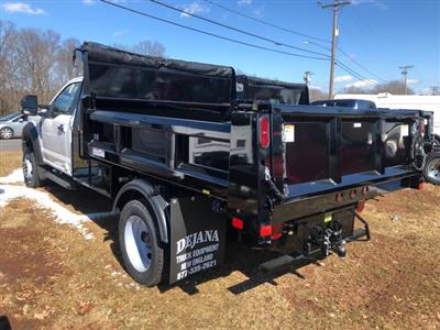 2019 F-550 Regular Cab DRW 4x4,  Rugby Eliminator LP Steel Dump Body #G5440 - photo 4