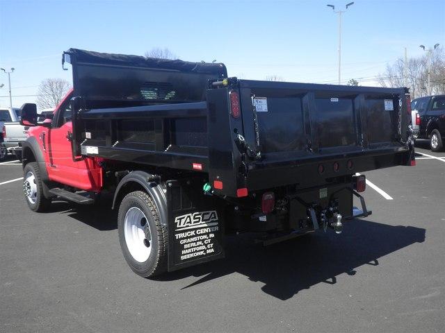 2019 F-550 Regular Cab DRW 4x4,  Rugby Eliminator LP Steel Dump Body #G5525 - photo 6