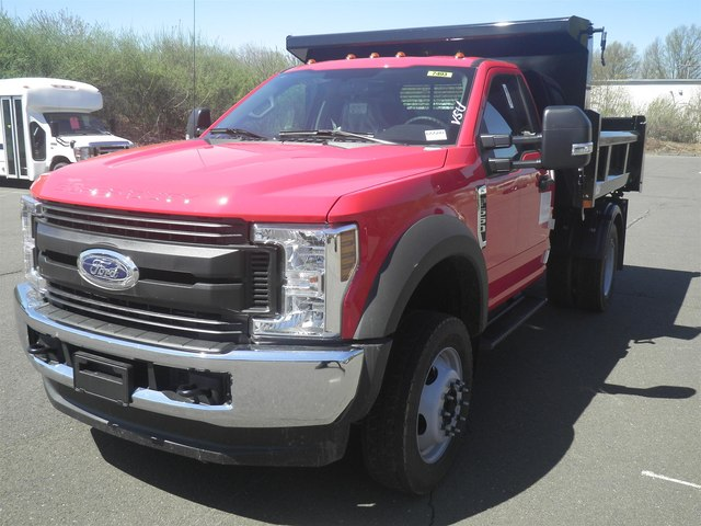 2019 F-550 Regular Cab DRW 4x4,  Rugby Eliminator LP Steel Dump Body #G5580 - photo 4