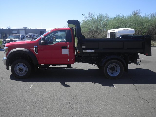 2019 F-550 Regular Cab DRW 4x4,  Rugby Dump Body #G5580 - photo 1