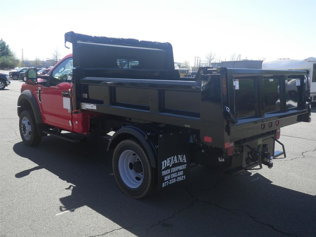 2019 F-550 Regular Cab DRW 4x4,  Rugby Eliminator LP Steel Dump Body #G5580 - photo 5