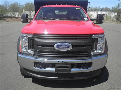 2019 F-550 Regular Cab DRW 4x4,  Rugby Eliminator LP Steel Dump Body #G5580 - photo 3