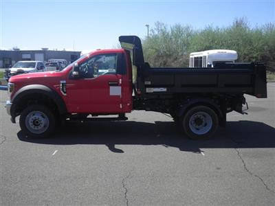 2019 F-550 Regular Cab DRW 4x4,  Rugby Eliminator LP Steel Dump Body #G5580 - photo 2