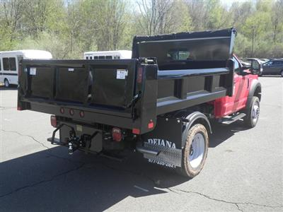 2019 F-550 Regular Cab DRW 4x4,  Rugby Eliminator LP Steel Dump Body #G5580 - photo 7