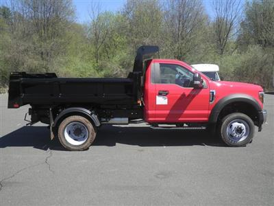 2019 F-550 Regular Cab DRW 4x4,  Rugby Eliminator LP Steel Dump Body #G5580 - photo 8