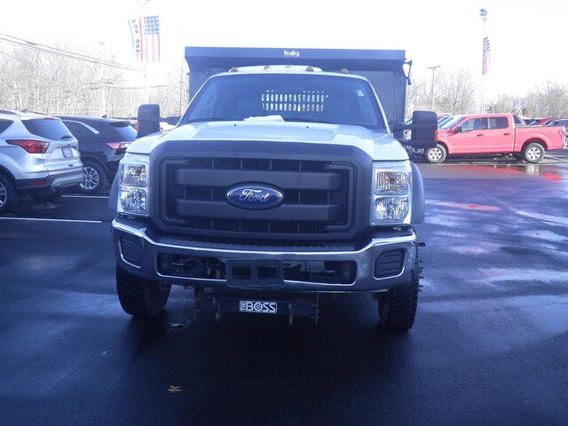 2011 F-550 Regular Cab DRW 4x4, Dump Body #G5580A - photo 3