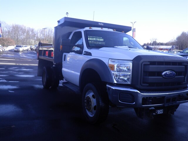 2011 F-550 Regular Cab DRW 4x4, Dump Body #G5580A - photo 4