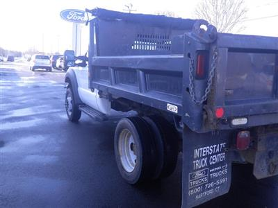 2011 F-550 Regular Cab DRW 4x4, Dump Body #G5580A - photo 2