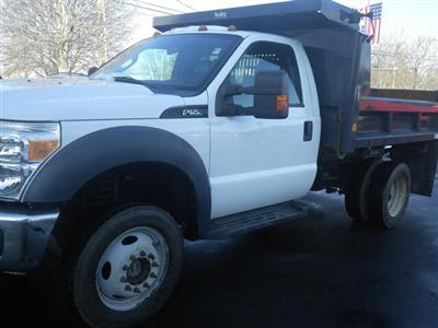 2011 F-550 Regular Cab DRW 4x4, Dump Body #G5580A - photo 14