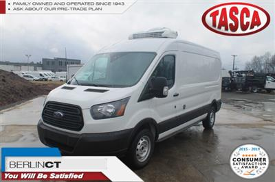 2019 Transit 250 Med Roof 4x2, Thermo King Direct-Drive Refrigerated Body #G6045 - photo 1