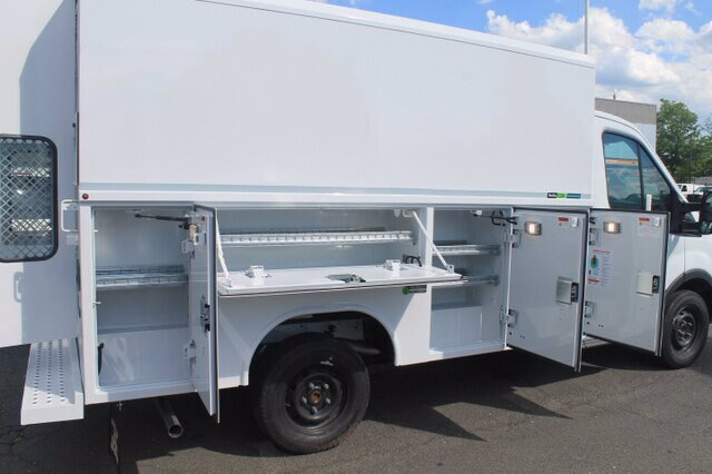 2019 Transit 350 4x2, Reading Aluminum CSV Service Utility Van #G6125 - photo 12