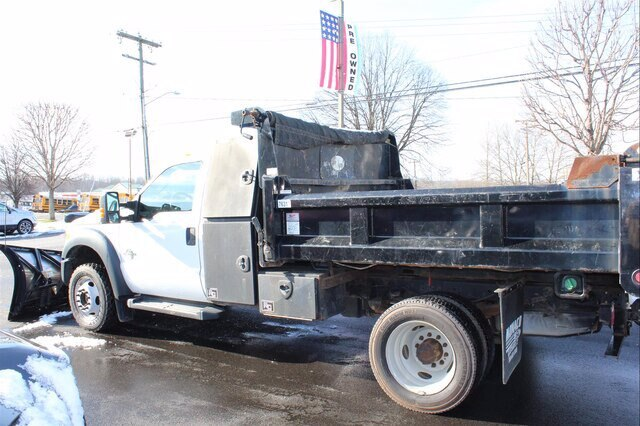 2015 F-550 Regular Cab DRW 4x4, Rugby Dump Body #G6179A - photo 1