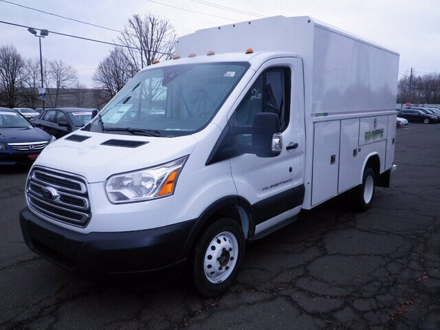 2019 Ford Transit 350 HD DRW RWD, Reading Aluminum CSV Service Utility Van #G6249 - photo 4