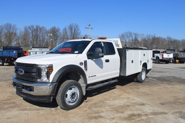 2019 Ford F-550 Super Cab DRW 4x4, Knapheide Service Body #G6443 - photo 1