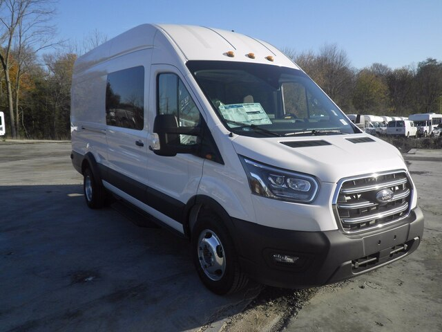 2020 Ford Transit 350 HD High Roof DRW AWD, Crew Van #G6832 - photo 1