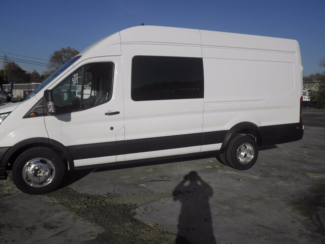 2020 Ford Transit 350 HD High Roof DRW AWD, Crew Van #G6832 - photo 5