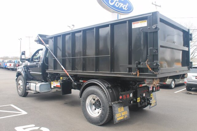 2021 Ford F-750 Regular Cab DRW 4x2, Beam Truck and Body, Inc Landscape Dump #G6941 - photo 3