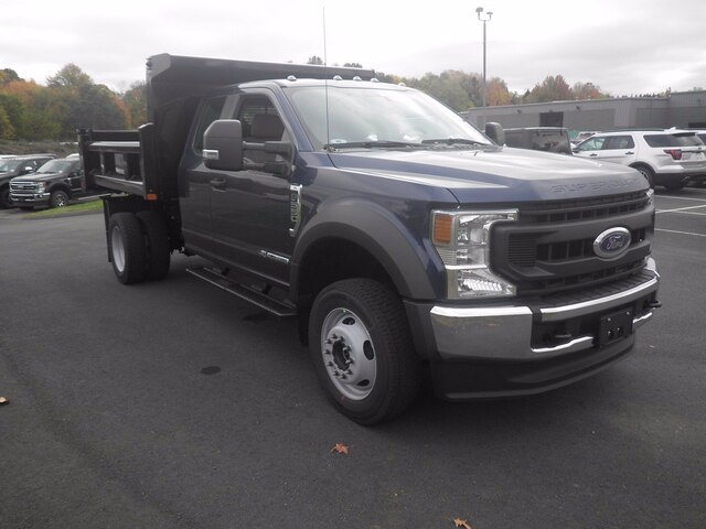2020 Ford F-550 Super Cab DRW 4x4, Rugby Dump Body #G7219 - photo 1