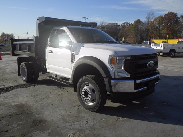 2020 Ford F-550 Regular Cab DRW 4x4, Rugby Dump Body #G7277 - photo 1