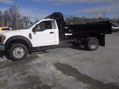2020 Ford F-600 Regular Cab DRW 4x4, Rugby Eliminator LP Steel Dump Body #G7319 - photo 5