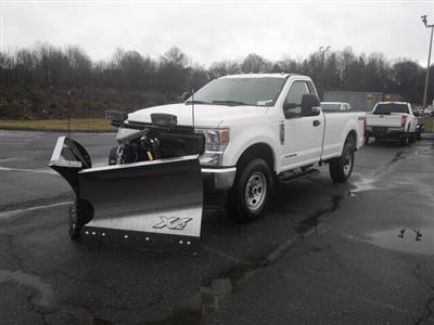 2020 Ford F-350 Regular Cab 4x4, Fisher Snowplow Pickup #G7324 - photo 4