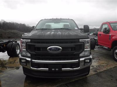 2021 Ford F-350 Regular Cab DRW 4x4, Cab Chassis #G7363 - photo 3