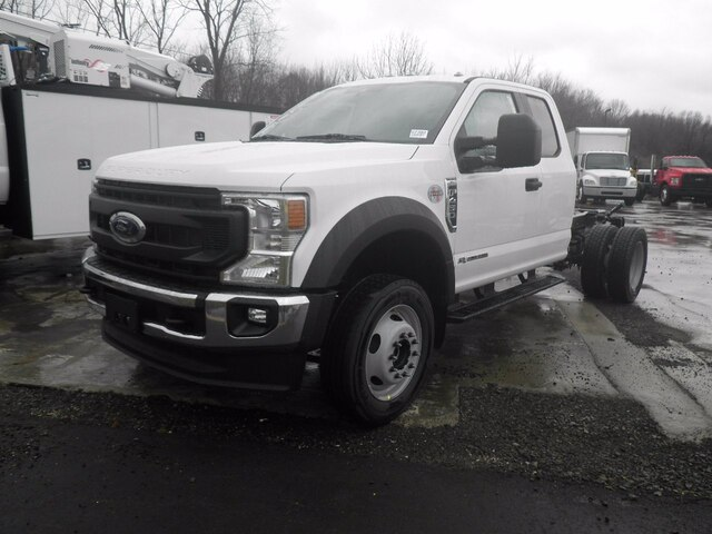 2021 Ford F-450 Super Cab DRW 4x4, Cab Chassis #G7382 - photo 2