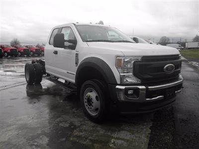 2021 Ford F-450 Super Cab DRW 4x4, Cab Chassis #G7382 - photo 1