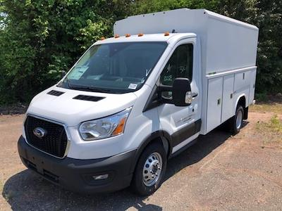 2021 Ford Transit 350 HD AWD, Reading Aluminum CSV Service Utility Van #G7705 - photo 1
