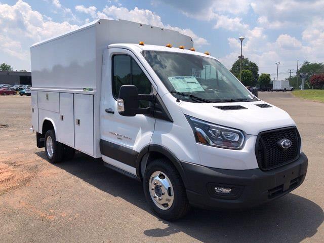 2021 Ford Transit 350 HD 4x2, Reading Aluminum CSV Service Utility Van #G7721 - photo 1