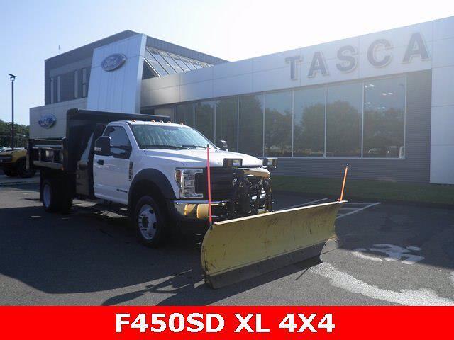 2019 F-450 Regular Cab DRW 4x4,  Dump Body #G7822A - photo 1