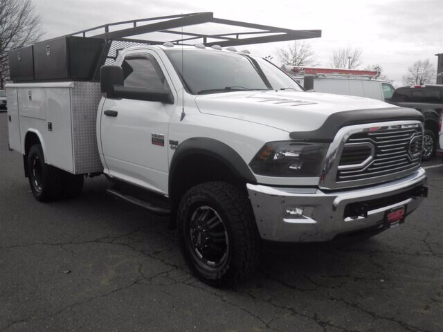 2012 Ram 3500 Regular Cab DRW 4x4, Reading Service Body #GCR5848A - photo 1
