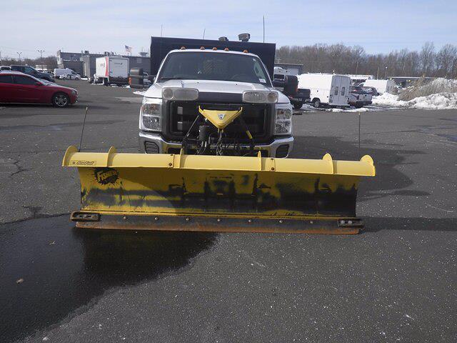 2011 Ford F-350 Regular Cab DRW 4x4, Dump Body #GCR7369A - photo 3