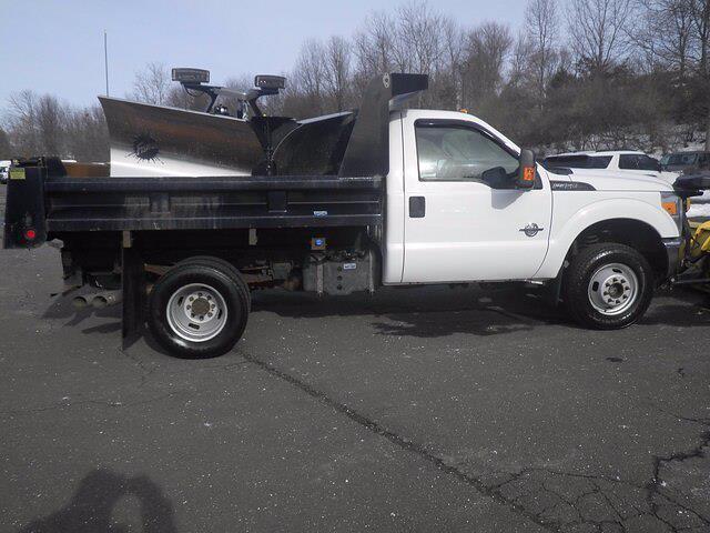 2011 Ford F-350 Regular Cab DRW 4x4, Dump Body #GCR7369A - photo 8