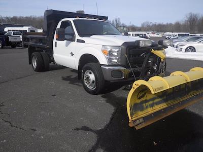 2011 Ford F-350 Regular Cab DRW 4x4, Dump Body #GCR7369A - photo 1