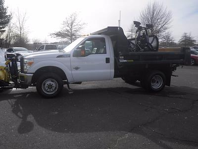 2011 Ford F-350 Regular Cab DRW 4x4, Dump Body #GCR7369A - photo 5