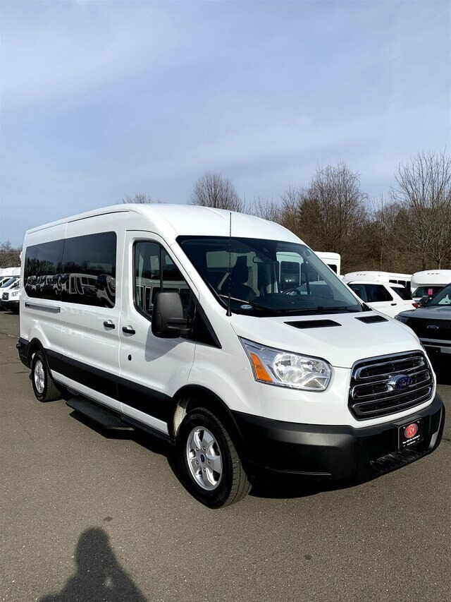 2019 Transit 350 Med Roof 4x2, Passenger Wagon #H3684 - photo 1