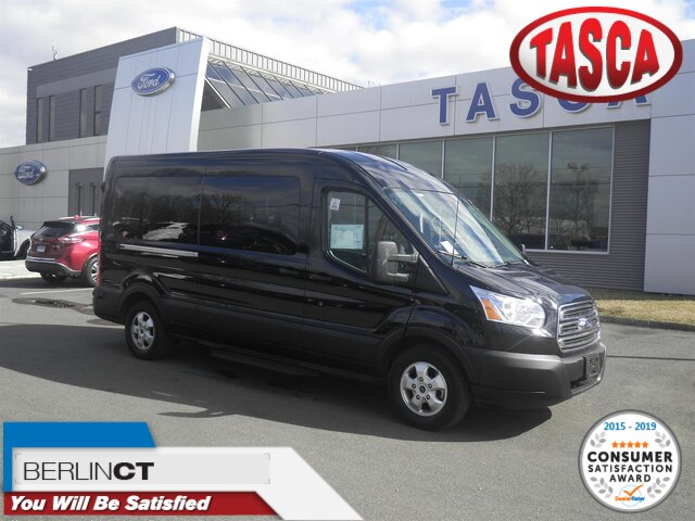 2019 Transit 350 Med Roof 4x2, Passenger Wagon #H3696 - photo 1
