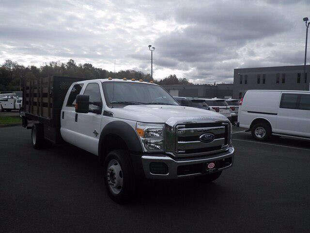 2016 Ford F-550 Crew Cab DRW 4x4, Stake Bed #H3812 - photo 4