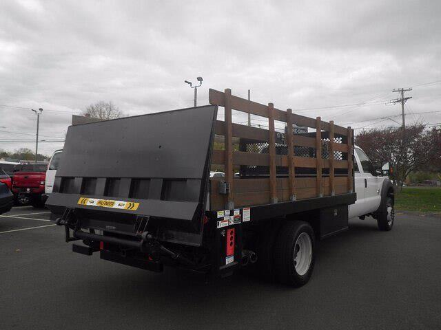 2016 Ford F-550 Crew Cab DRW 4x4, Stake Bed #H3812 - photo 8
