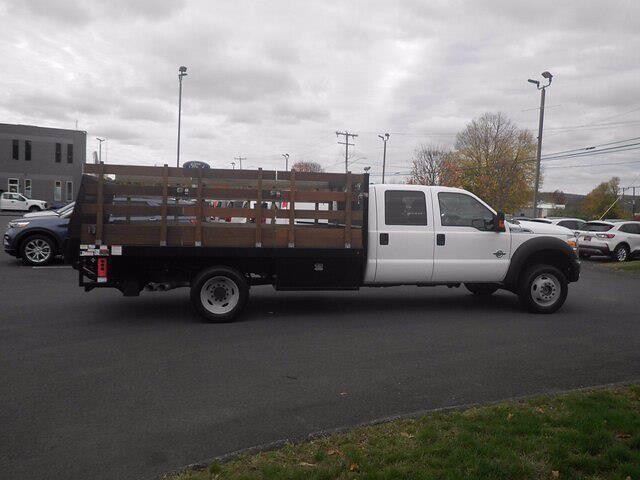2016 Ford F-550 Crew Cab DRW 4x4, Stake Bed #H3812 - photo 9