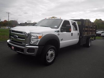2016 Ford F-550 Crew Cab DRW 4x4, Stake Bed #H3812 - photo 1