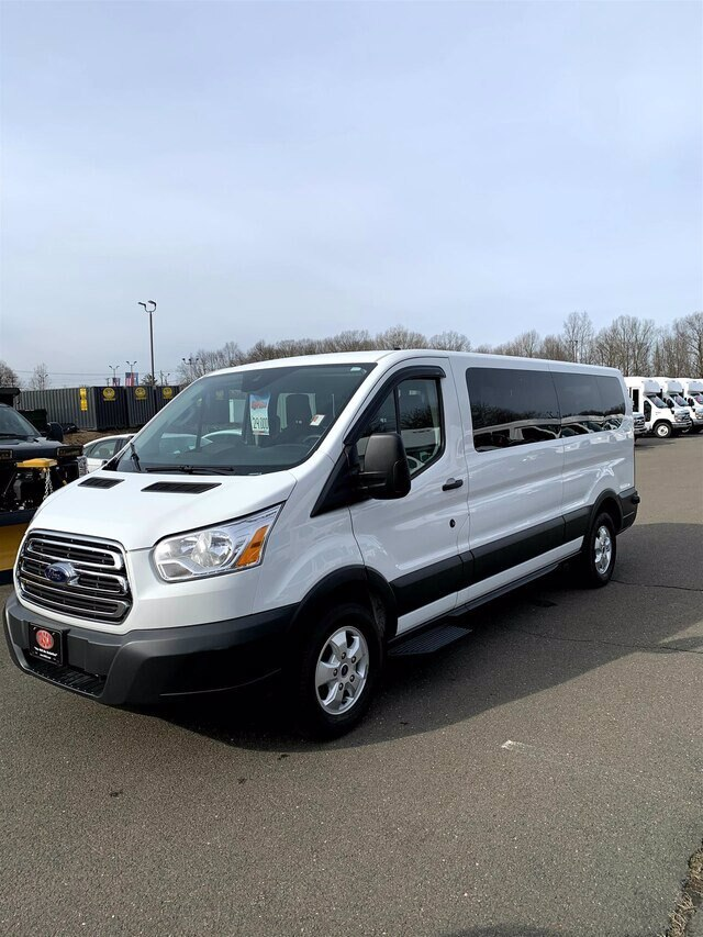 2018 Transit 350 Low Roof 4x2, Passenger Wagon #HRU379A - photo 4
